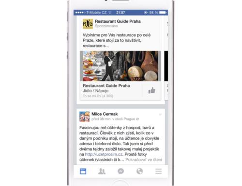 Facebook Kontextová reklama
