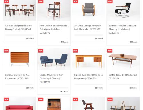 Webový katalog – DAVINT Design Barcelona